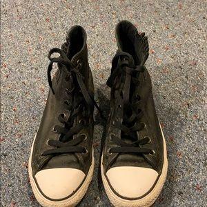 Converse black height top sneaker